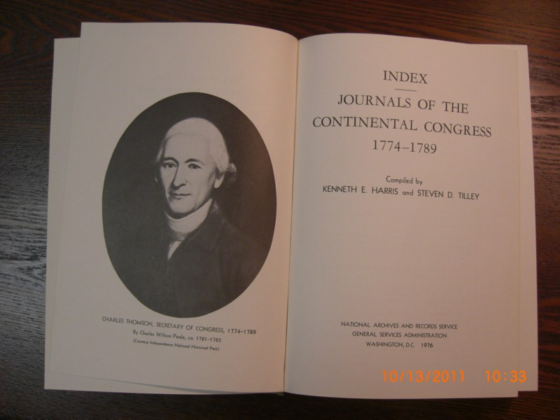 Name:  Journals of the Continental Congress Cover Page.jpg